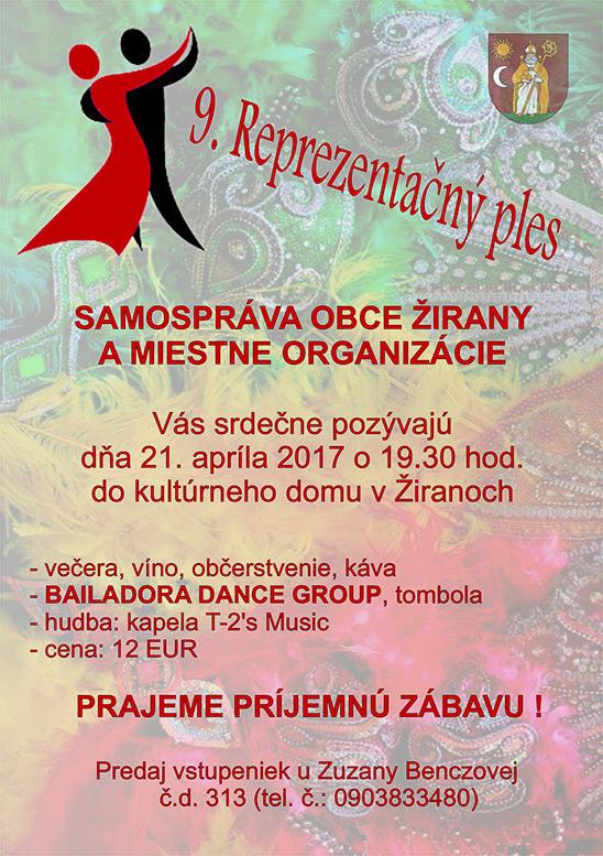 9. Reprezentačný ples